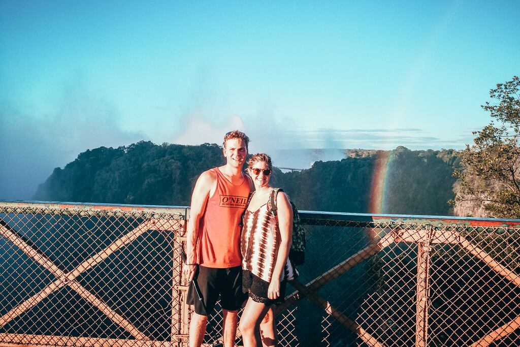 Crossing From Zambia to Zimbabwe at Victoria Falls Bridge