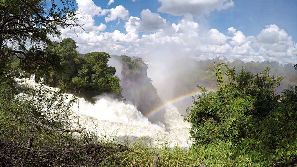 Victoria Falls Viewpoints from the Zimbabwean side