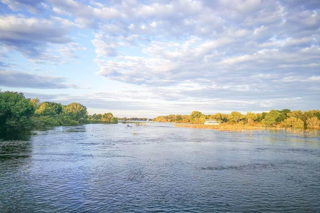 Views from our Zambezi River cruise