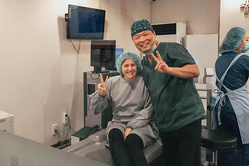 Recovery for lasek in Korea