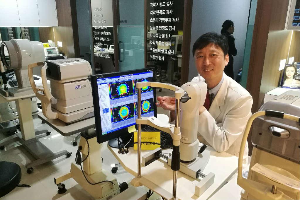 Lasik eye surgery in Korea