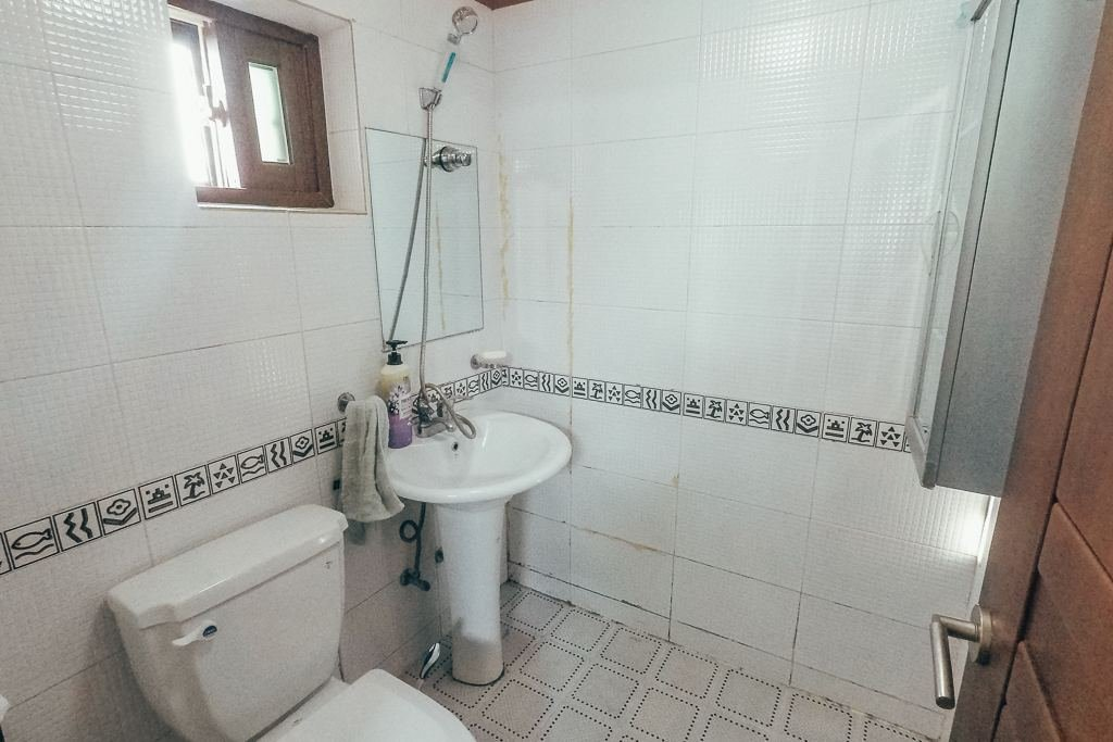 "My ""not-so-spacious"" bathroom in Korea"