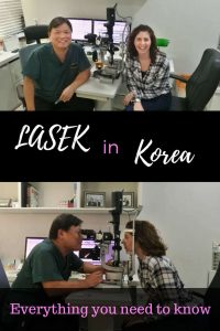 Lasek in Korea