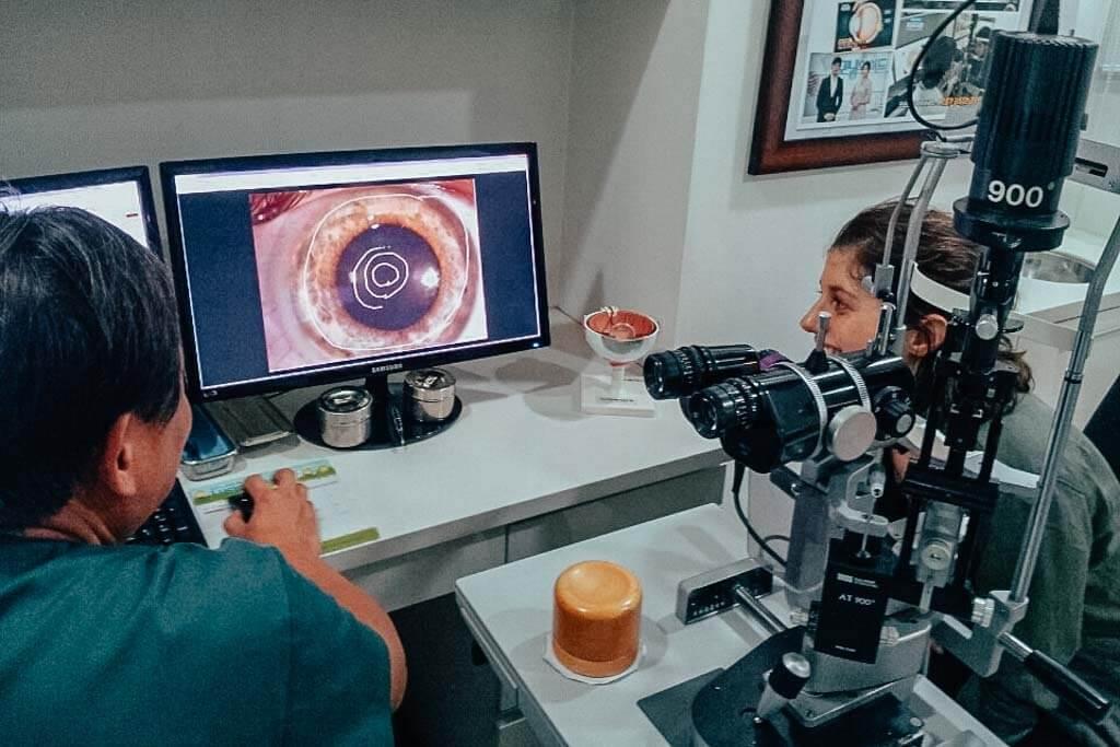 laser eye surgerg in Seoul, Korea