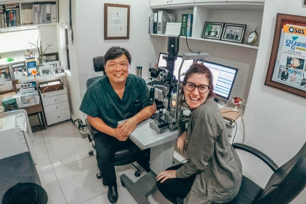 lasik in South Korea over South Africa