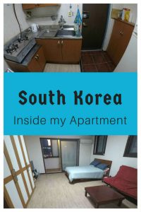 South Korea Apartment for teachers