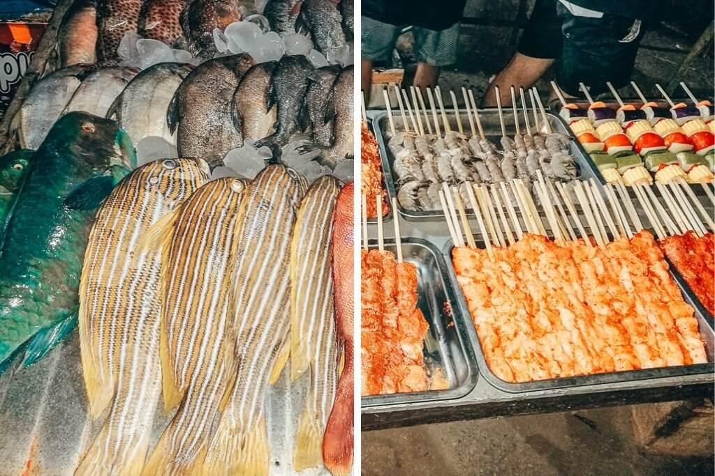 Gili Trawangan night market
