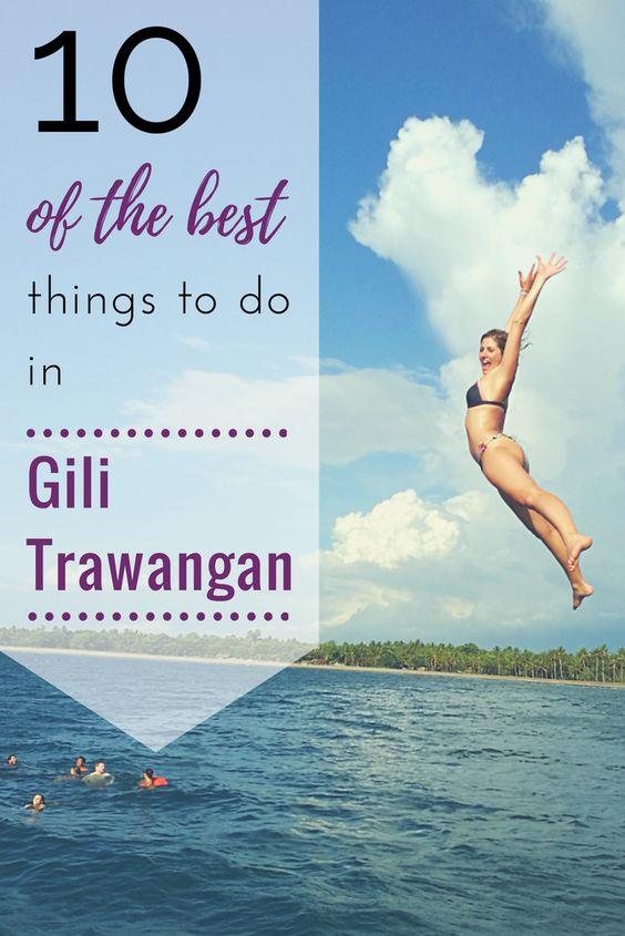 Things to do in Gili Trawangan, Bali, Indonesia