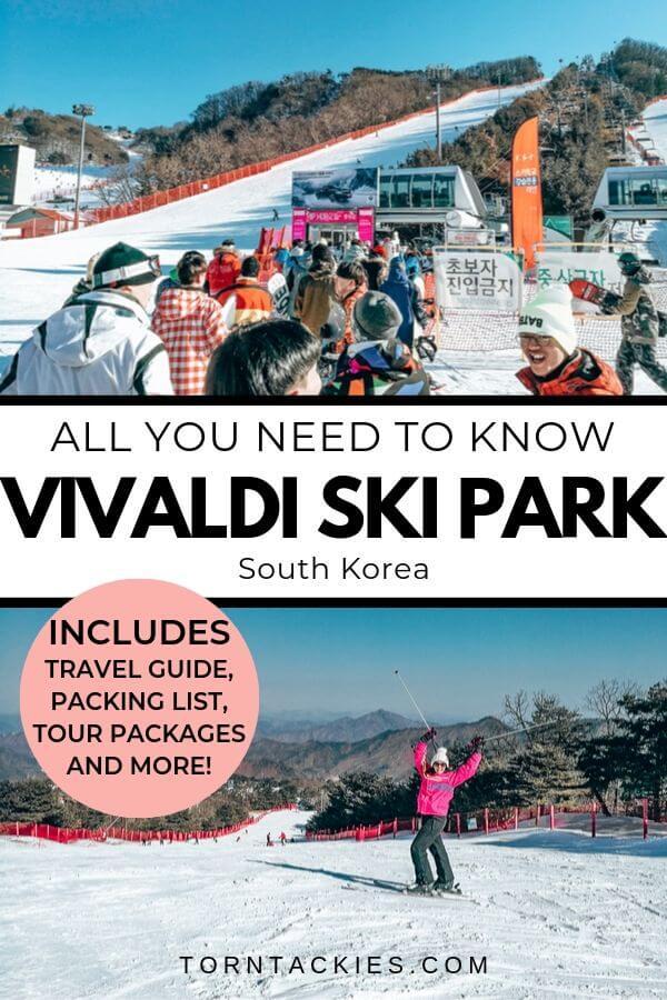 Travel Guide To Vivaldi Ski Park in South Korea - Torn Tackies Travel Blog