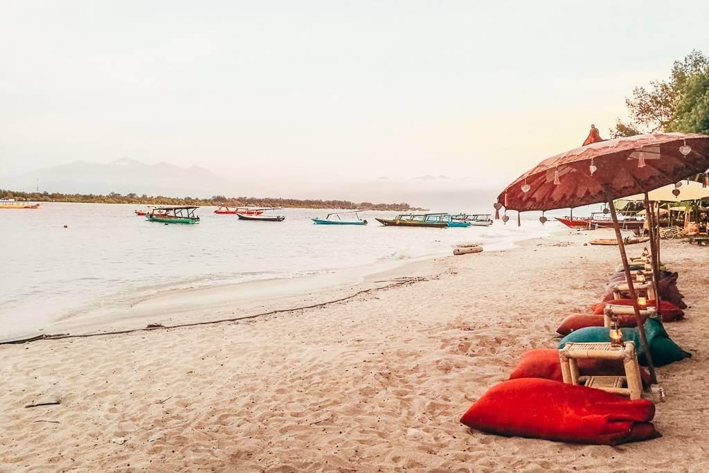 gili trawangan indonesia itinerary