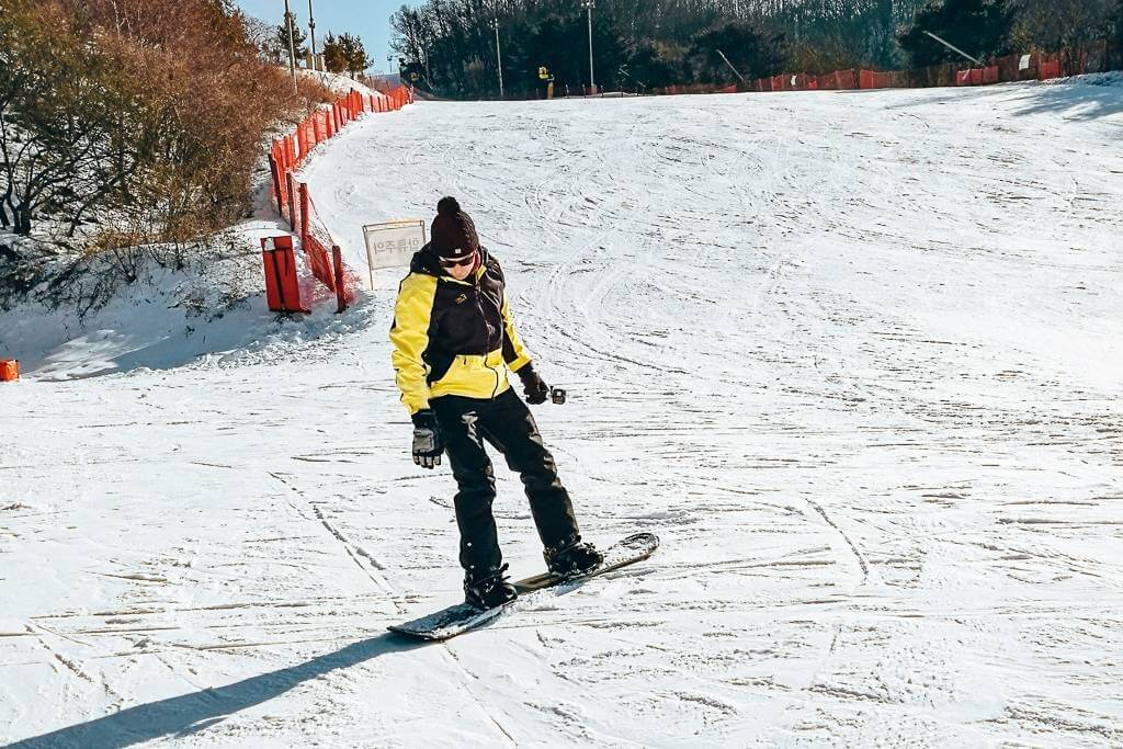 Next time I'll give snowboarding a go