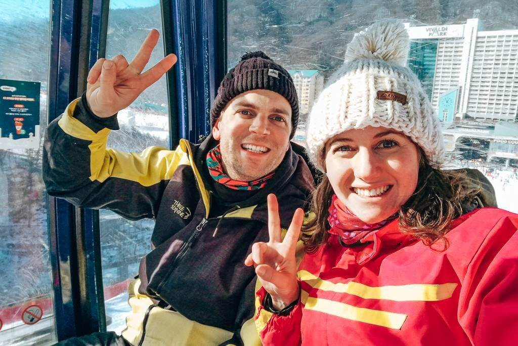 Peace y'all – we're going skiing!