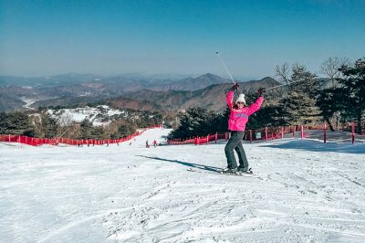 Vivaldi Ski Park in Korea: A day on the slopes