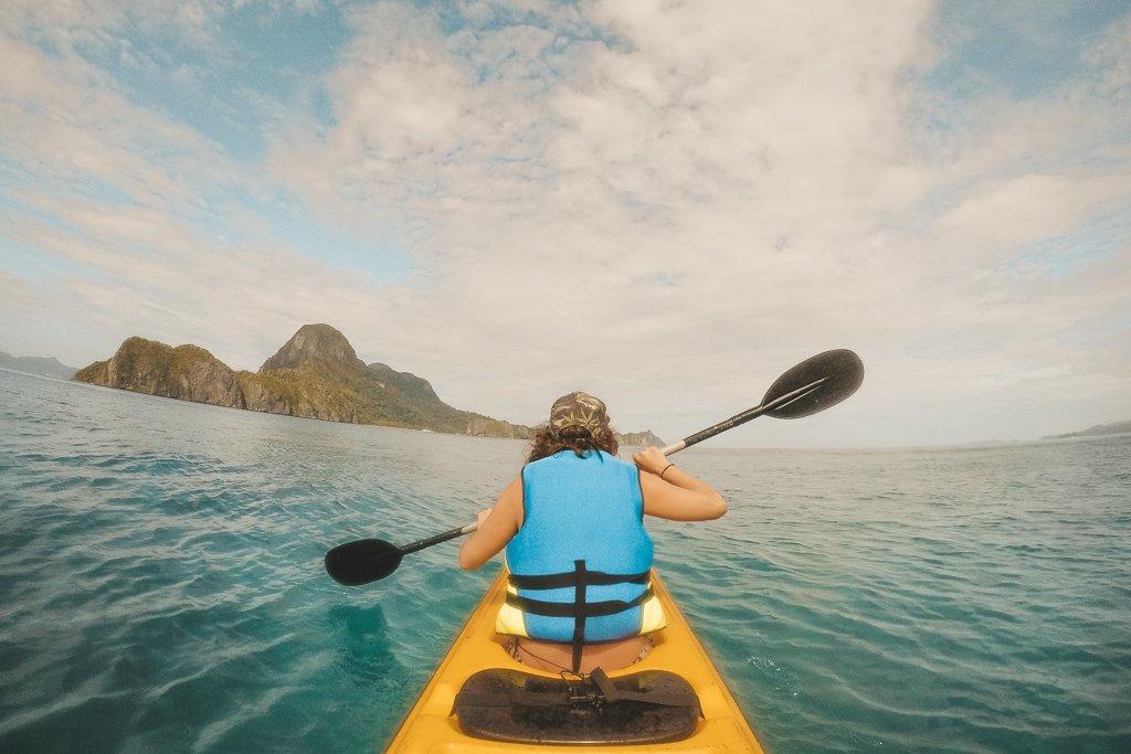 Kayaking in El Nido Philippines
