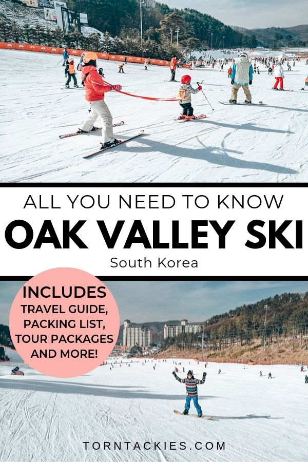 Oak Valley Ski Resort in South Korea - Torn Tackies Travel Blog