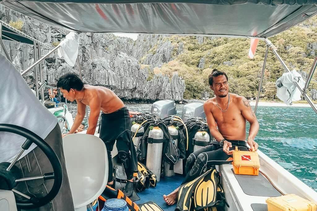 Scuba diving in El Nido, Palawan