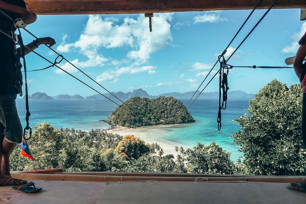 Ziplining at Las Cabanas