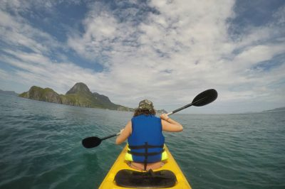 Kayaking is one of the best things to do in El Nido, Palawan