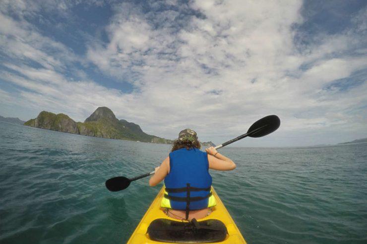 Kayaking is one of the best things to do in El Nido, Palawan