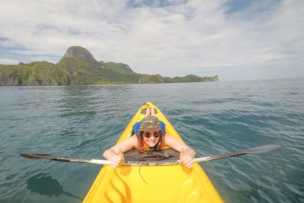 El Nido tours kayak