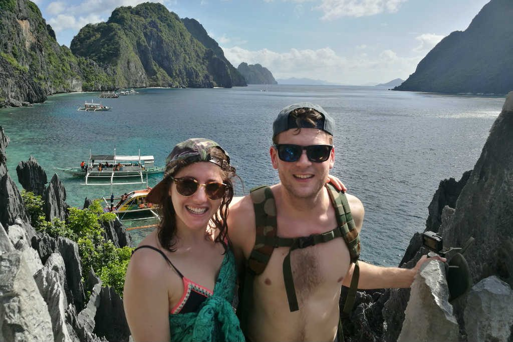 Matinloc isalnd is one of the best island hopping stops in El Nido