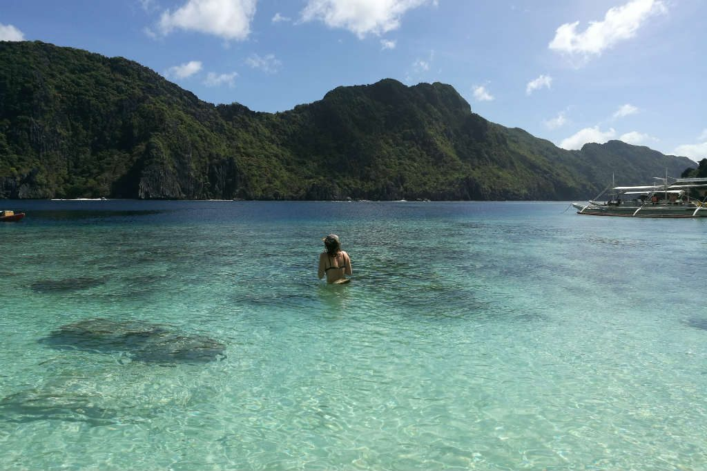 EL Nido island hopping was amazing.