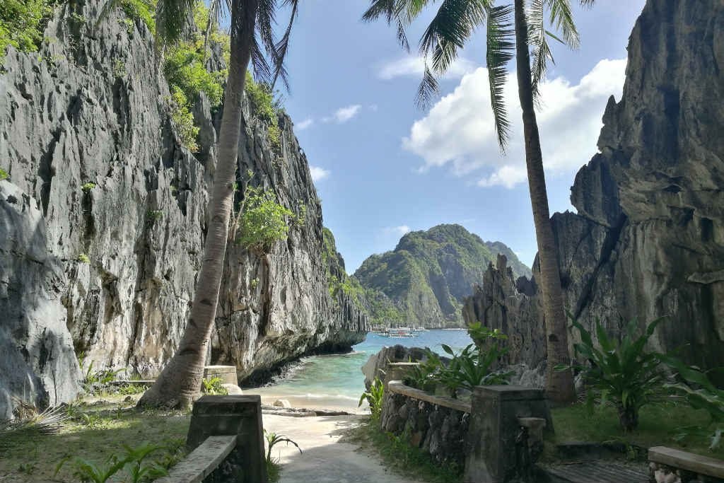 Matinloc Shrine was a great stop on our El Nido Island Hopping Tour
