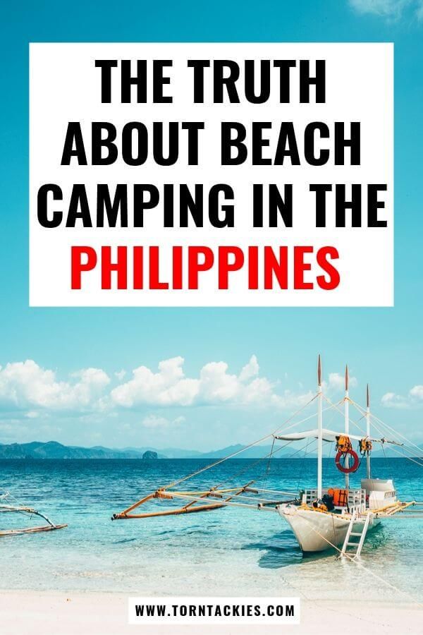 Beach Camping in El Nido, Palawan in the Philippines - Torn Tackies Travel Blog