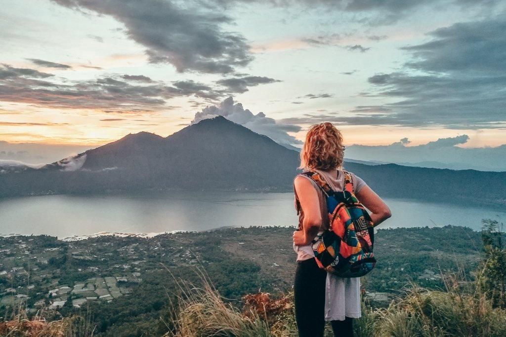 Hiking Mount Batur in Bali