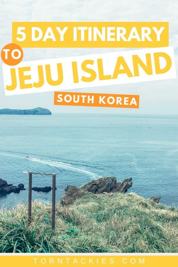 Jeju Island Itinerary in South Korea