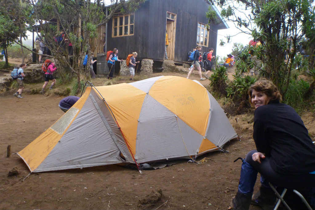 Camping for 7 days on Mount Kilimanjaro - it's rough but you get used to it!