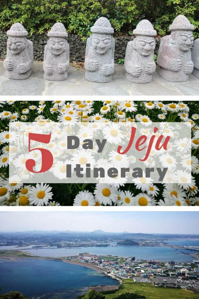 Jeju itinerary and things to do in Jeju