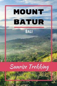 Mount Batur sunrise trekking in Bali