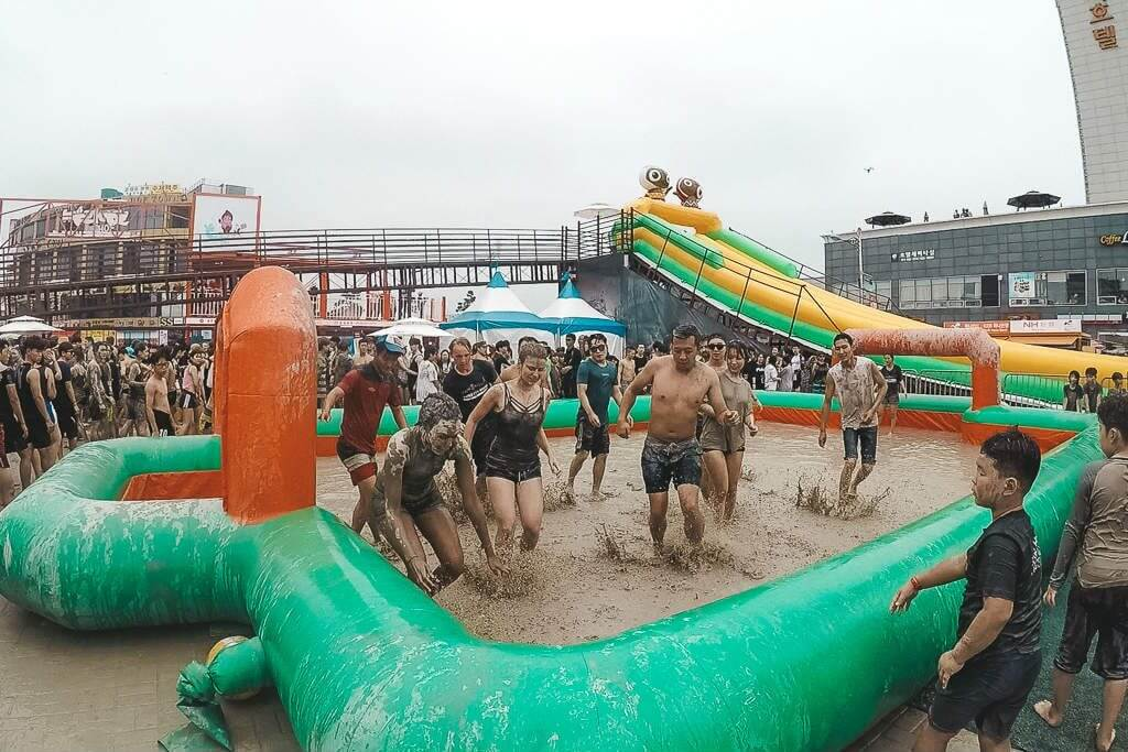 Mud Soccer at Boryeong Mud Festival