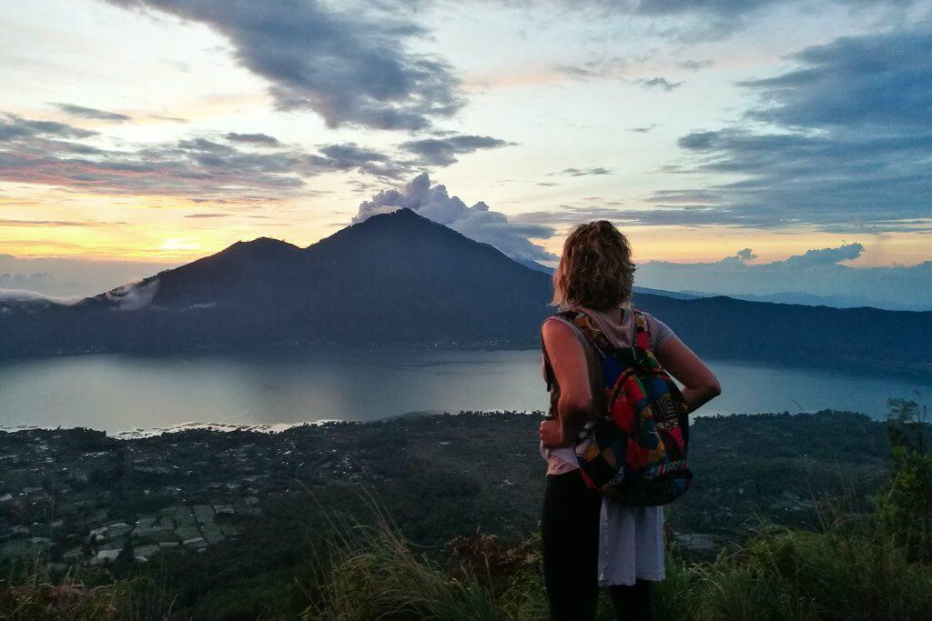 Mount Batur in Ubud