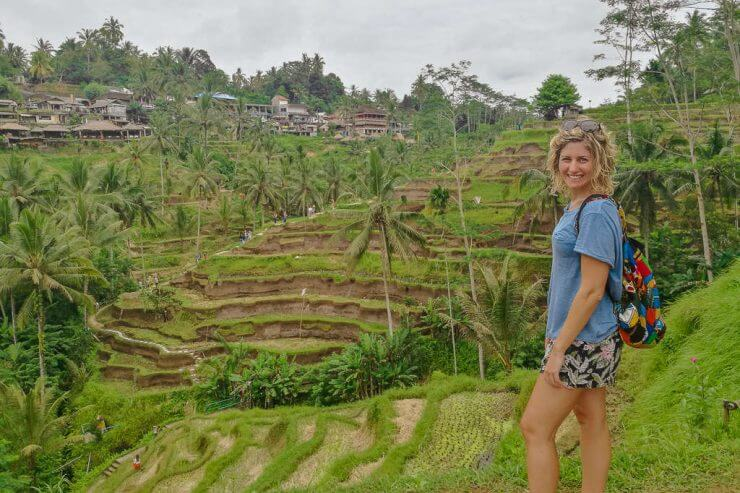 Tegalalang Rice Terrace in Ubud is a must do