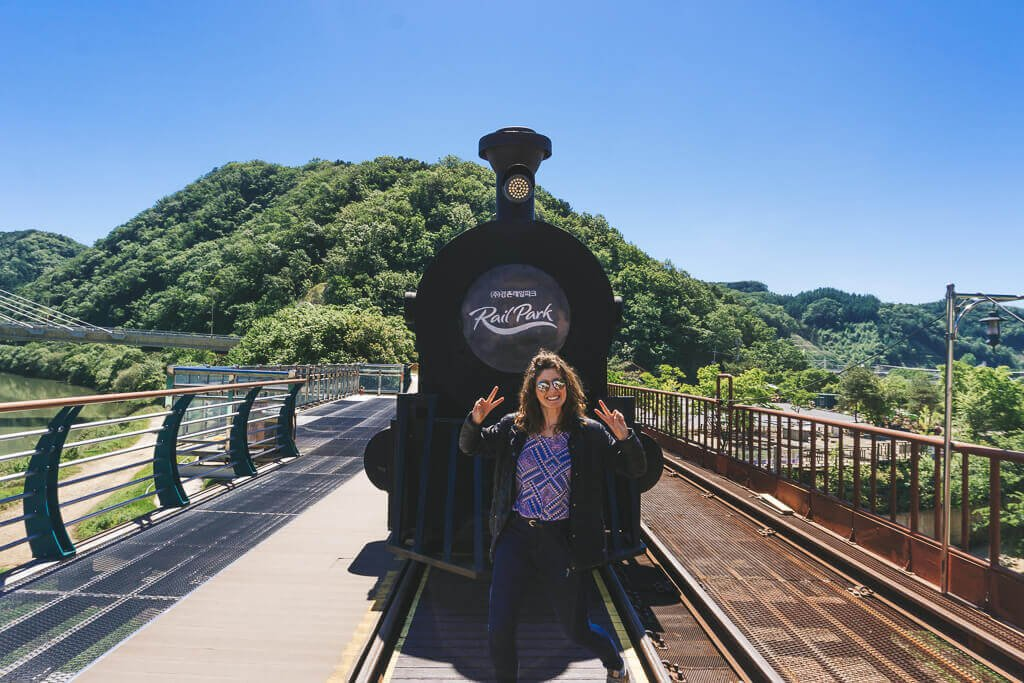 Romantic Train at Gangchon Rail Bike