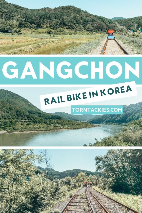 A guide to the Gangchon Rail Park near Seoul, Korea