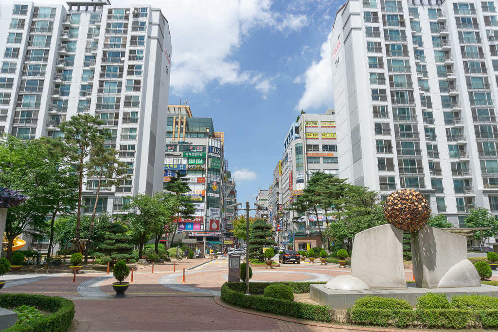 Apartments in Korea
