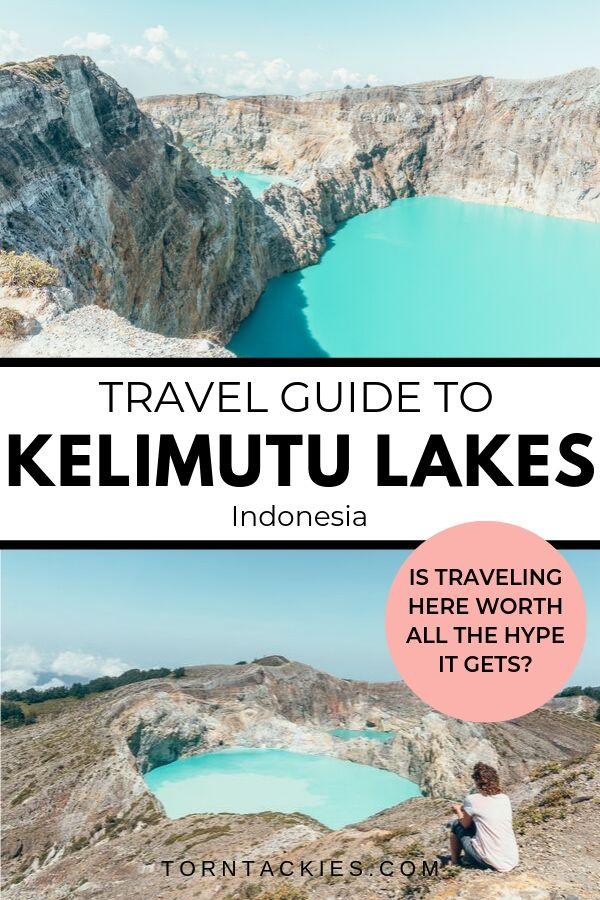 Explore Kelimutu Crater Lakes on Flores Island, Indonesia - Torn Tackies Travel Blog