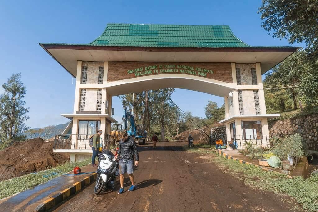 Entrance to Kelimutu National Park