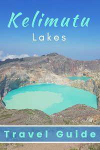 Kelimutu Lakes in Flores, Indonesia travel