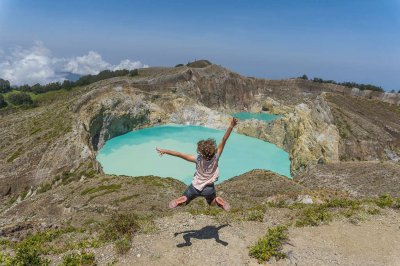 The magical Kelimutu National Park
