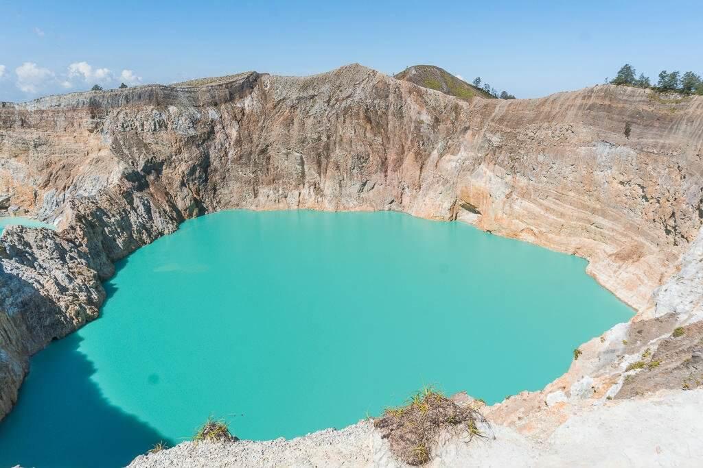 The Enchanted Lake in Kelimutu National Park