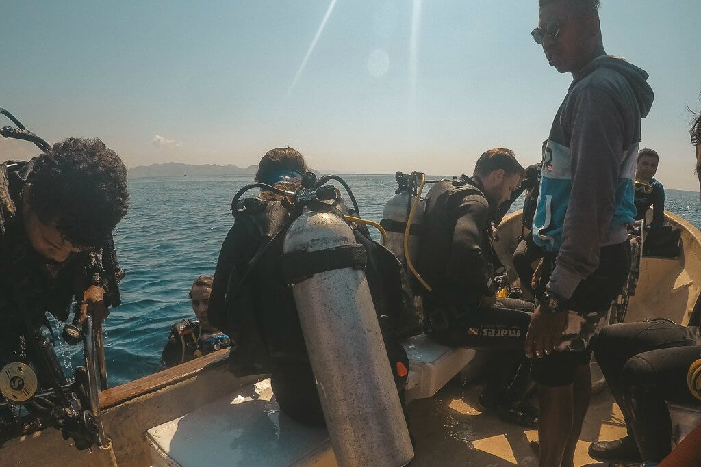 Yet another successful drift dive in Komodo, Flores