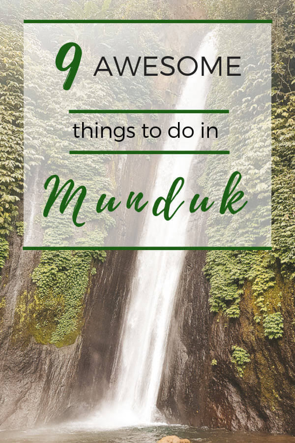 Awesome things to do in Munduk, Bali