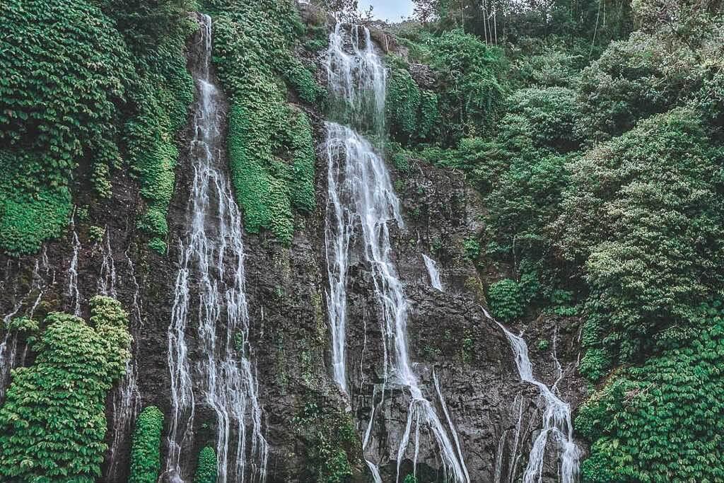 Banyumala Twin Waterfall in Munduk