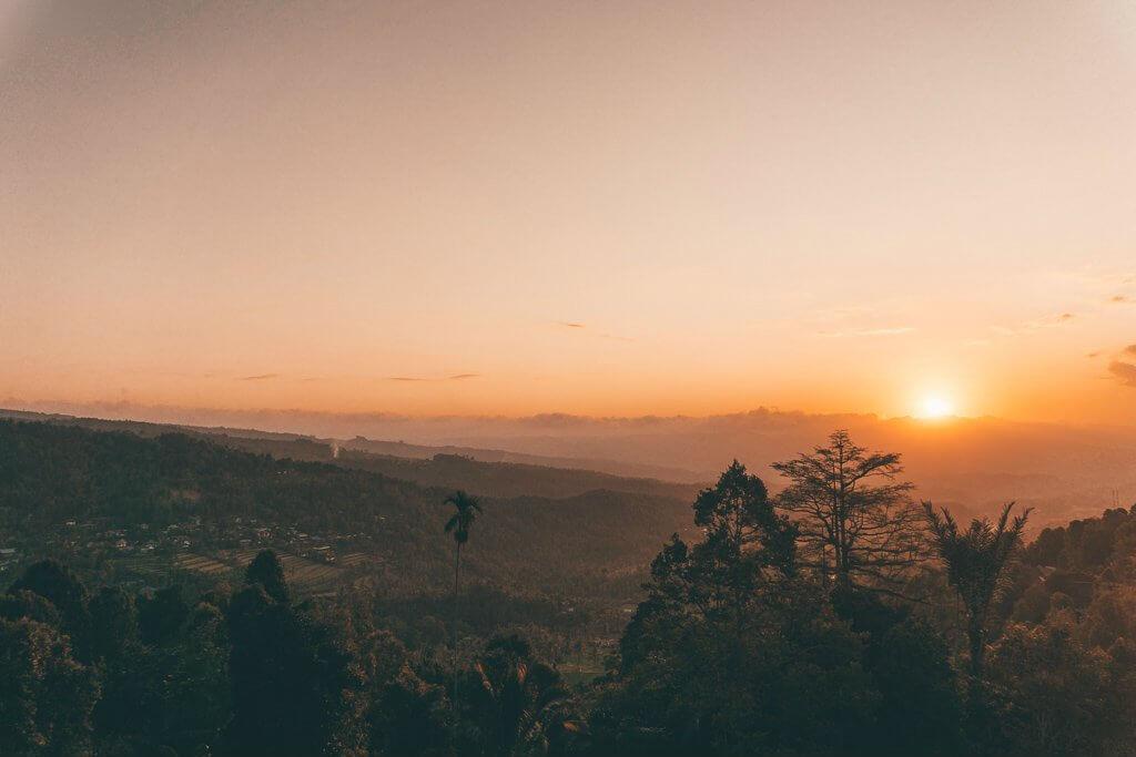 Munduk sunsets