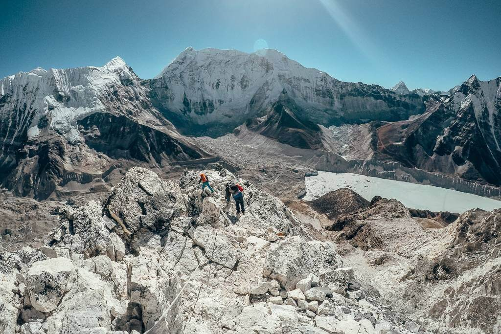 Island Peak trek in Nepal