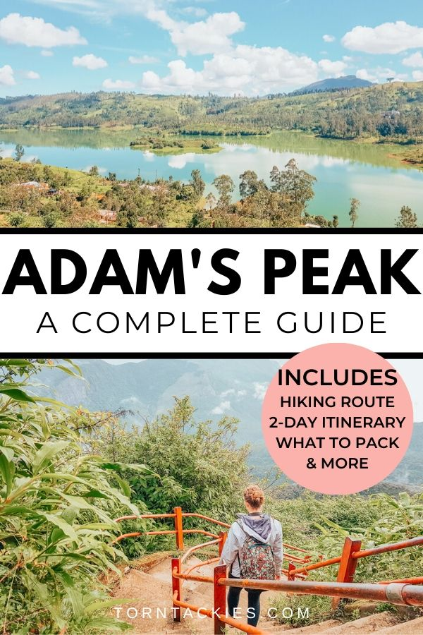 Travel guide to climbing Adams Peak in Dalhousie, Sri Lanka | Torn Tackies Travel Blog